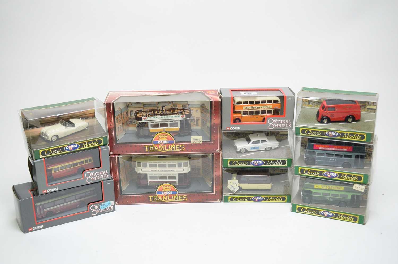 Lot 895 - Corgi model vehicles.