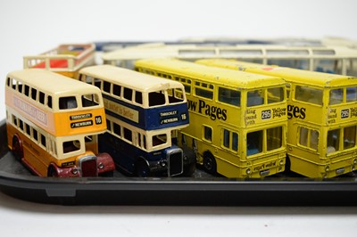 Lot 887 - Dinky diecast buses.
