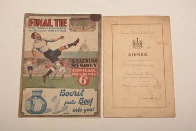 Lot 1233 - Football memorabilia.
