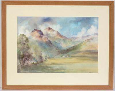 Lot 30 - Chris E Mouncey - watercolour