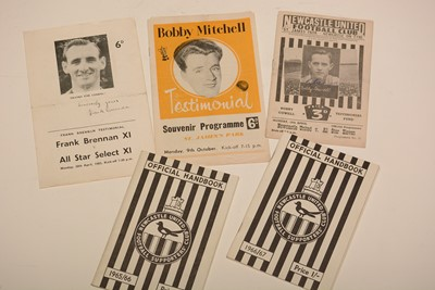Lot 1236 - Newcastle United football programmes