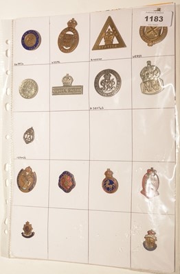 Lot 1183 - A collection of  8 WWI War Service badges.