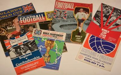 Lot 1235 - Football programmes, International and Cup interest