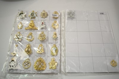 Lot 1224 - A collection of Australian Military cap badges.