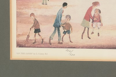 Lot 298 - Laurence Stephen Lowry - limited edition.