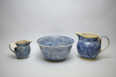Lot 290 - Emma Bridgewater bowl; and two jugs with similar decoration.