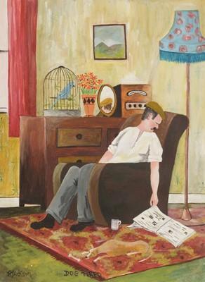 Lot 221 - Alan Dickson - watercolours.