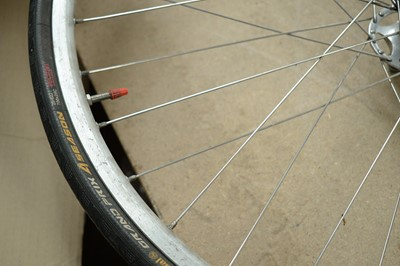 Lot 725 - Pair and two other Mavic bike wheels.