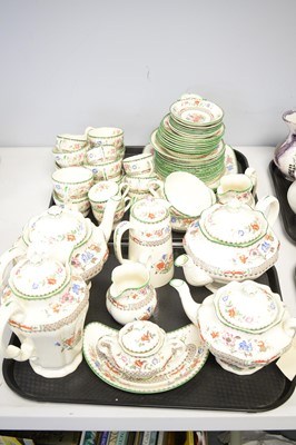 Lot 349 - Quantity of Copeland Spode 'Chinese Rose' pattern earthenware.