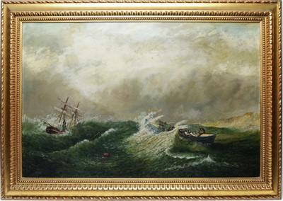 Lot 337 - J* Wilson - oil on canvas