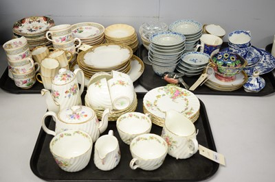Lot 343 - Part tea/coffee services; and other ceramics.