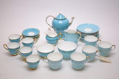 Lot 410 - Two tea services.