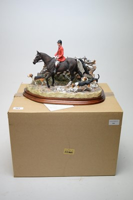 Lot 363 - A Border Fine Arts group, The Boxing Day Meet