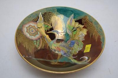 Lot 393A - Carlton ware 'Phoenix' pattern shallow dish.