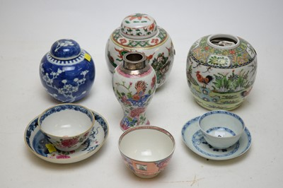 Lot 438 - A group of Chinese porcelain
