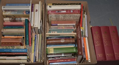 Lot 466 - Selection of various books.