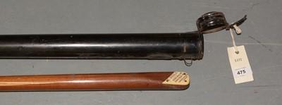 Lot 475 - Early 20th Century Burroughs & Watts billiard cue in original case