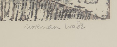 Lot 214 - Norman Wade - linocuts.