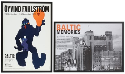 Lot 935 - Two Baltic Gallery posters
