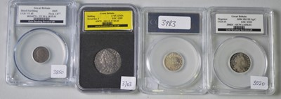 Lot 200 - LCGS Coins.