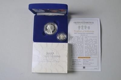 Lot 201 - Queen Elizabeth II coins.