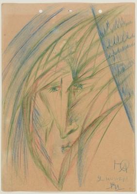 Lot 654 - Yuri Pavlovich Annenkov - drawing