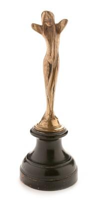 Lot 803 - Small Art Nouveau nude bronze figure