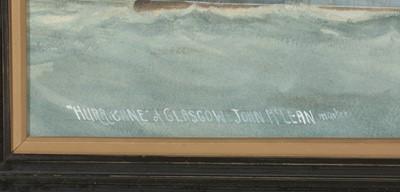 Lot 312 - J* Hall - watercolour.