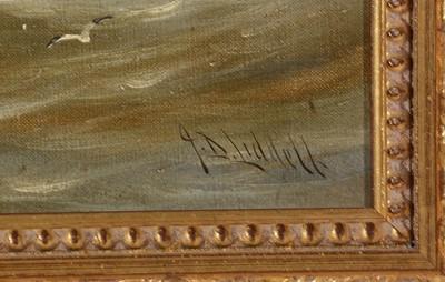 Lot 274 - John Davison Liddell - oil.