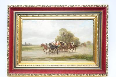 Lot 338 - British School late 19th Century - Oil on canvas