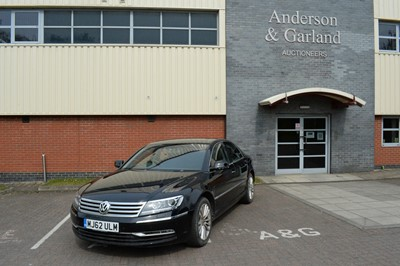 Lot 542 - 2012 Volkswagen Phaeton