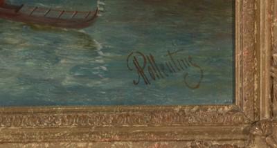Lot 376 - Alfred Pollentine - oil.