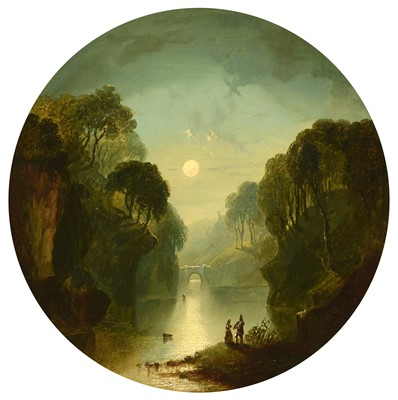 Lot 392 - Circle of Henry Pether - oil.