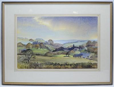 Lot 302 - Alan B Charlton - watercolour