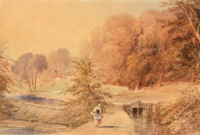 Lot 245 - Attributed to Thomas Miles Richardson, snr. - watercolour.