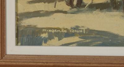 Lot 408 - William Norman Gaunt - oil.