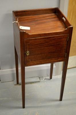 Lot 47A - Regency mahogany pot cupboard