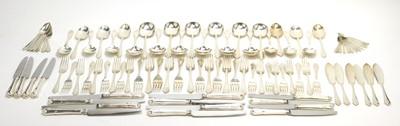 Lot 186 - A suite of Elizabeth II silver cutlery.