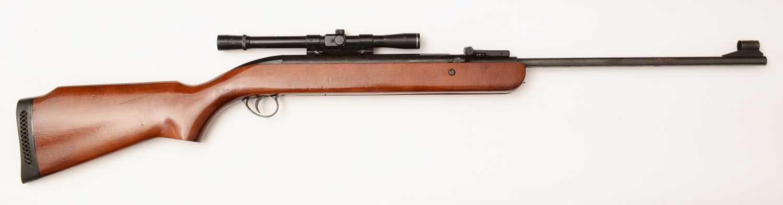 Lot 1004 - B.S.A  .22cal air rifle