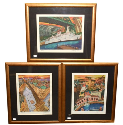Lot 270 - After George Reay - limited edition prints.