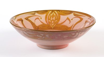 Lot 706 - A modern Lustre Bowl by Alan Caiger-Smith MBE