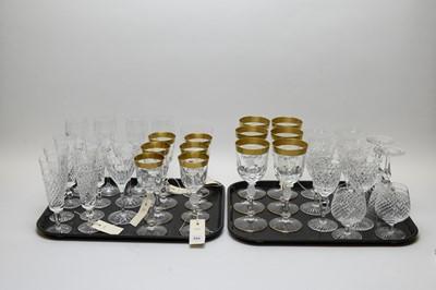 Lot 355 - Quantity of drinking glasses.