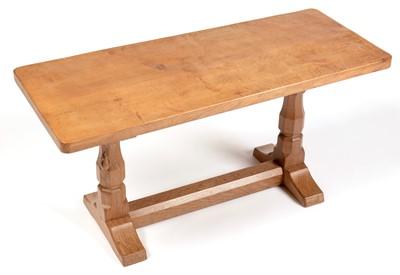 Lot 880 - Robert 'Mouseman' Thompson - coffee table