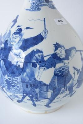 Lot 450 - 19th Century Chinese bottle vase