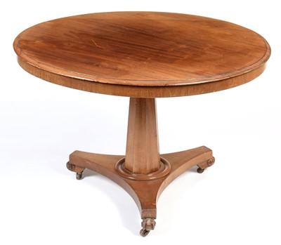 Lot 868 - Victorian mahogany breakfast table