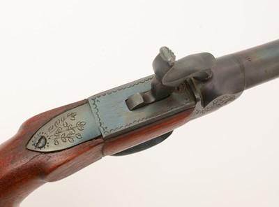 Lot 1007 - 20th Century replica percussion pistol