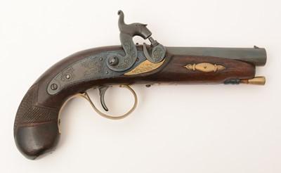 Lot 1008 - Replica percussion pistol