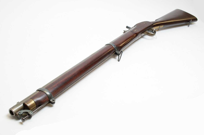 Lot 1009 - Replica percussion musket
