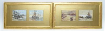 Lot 318 - Edwin Hayes - watercolours