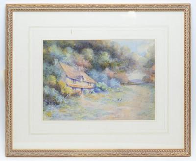 Lot 320 - Leyton Forbes - watercolour